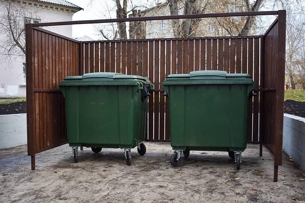 Дополнительная опция – уборка места сбора мусора
