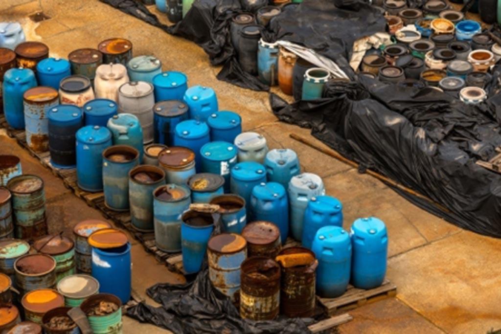 Хранение отходов производства на предприятии