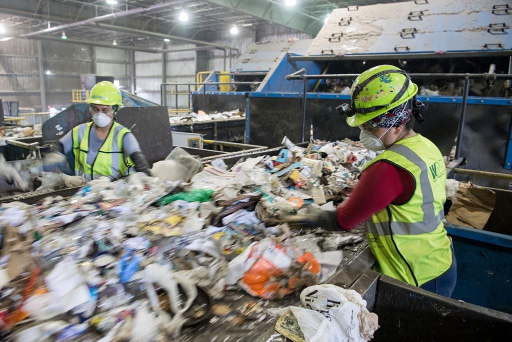 Информация о технологиях переработки или ликвидации различных типов отходов