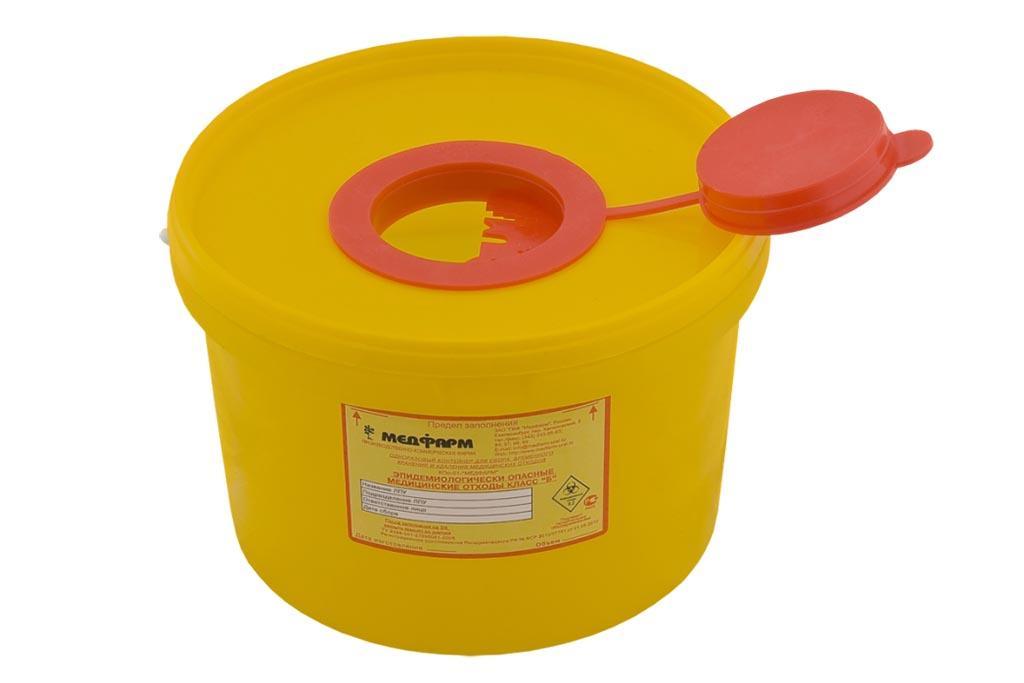 Использование тары определённого цвета и маркировки для каждого класса