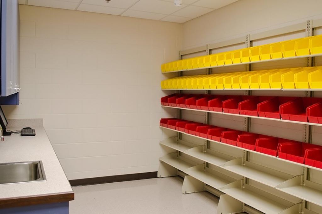 Как осуществляется временное хранение медицинского мусора