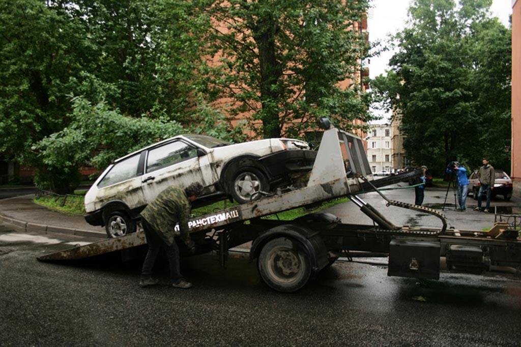 Как сдать автомобиль на металлолом