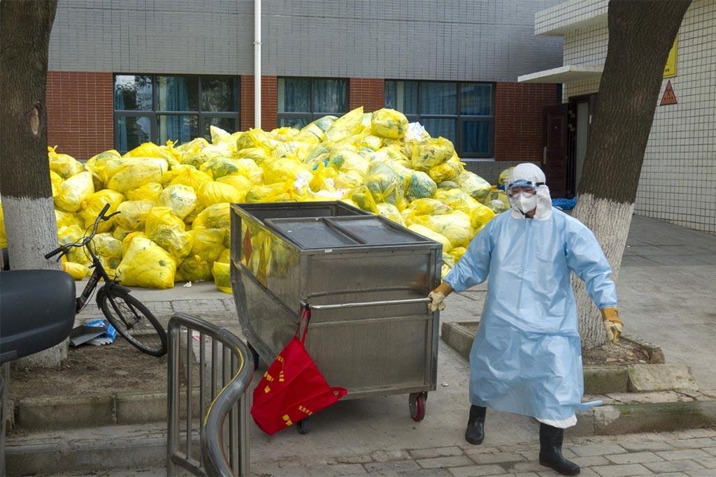 Места формирования медицинского мусора класса Б