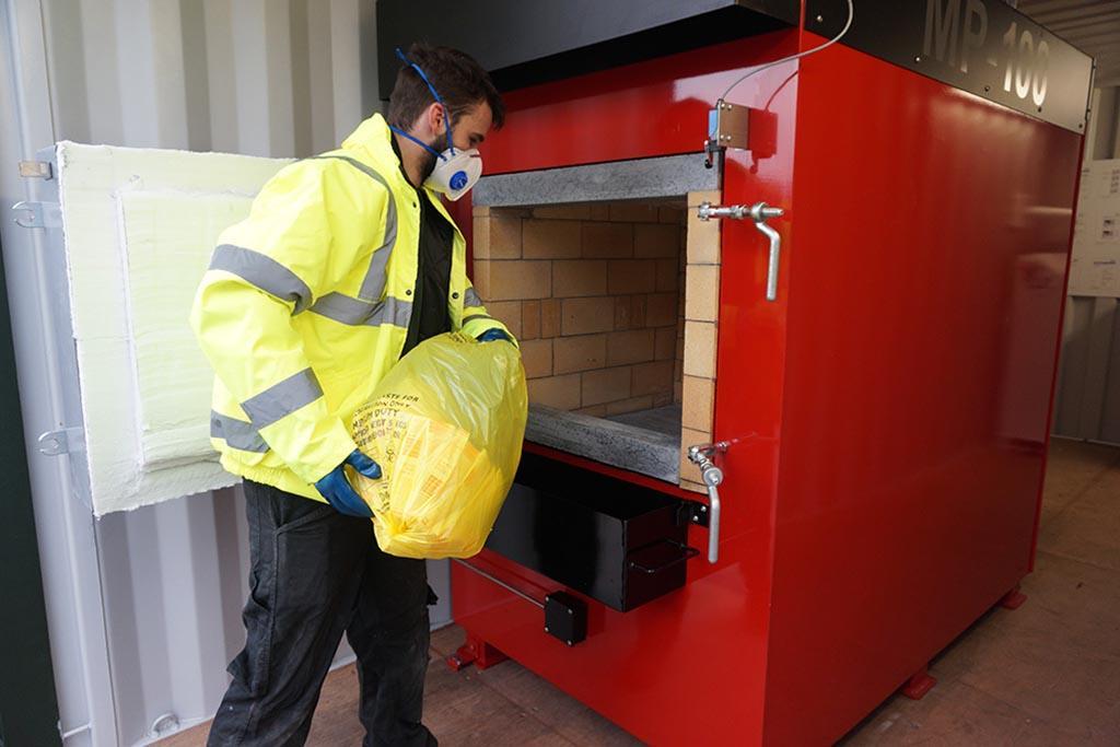 Методы утилизации отходов класса Б