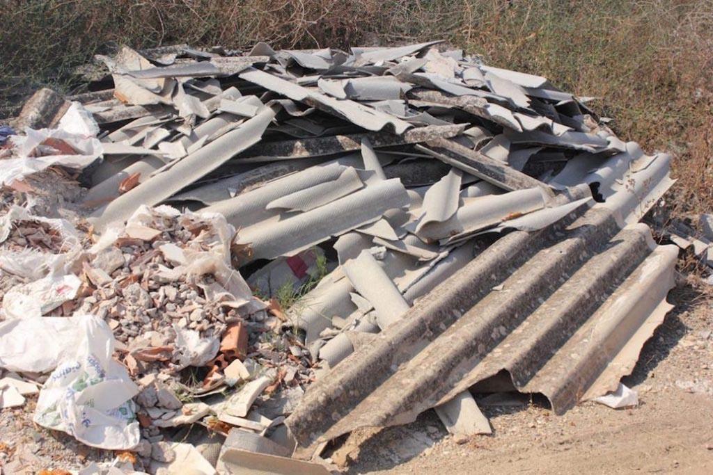 Некоторые виды строительного мусора могут быть токсичными для окружающей среды