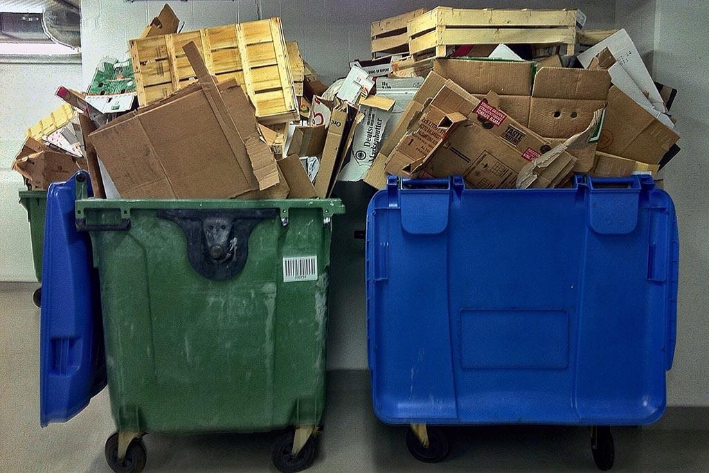 Отходы, образующиеся вследствие предоставляемых услуг