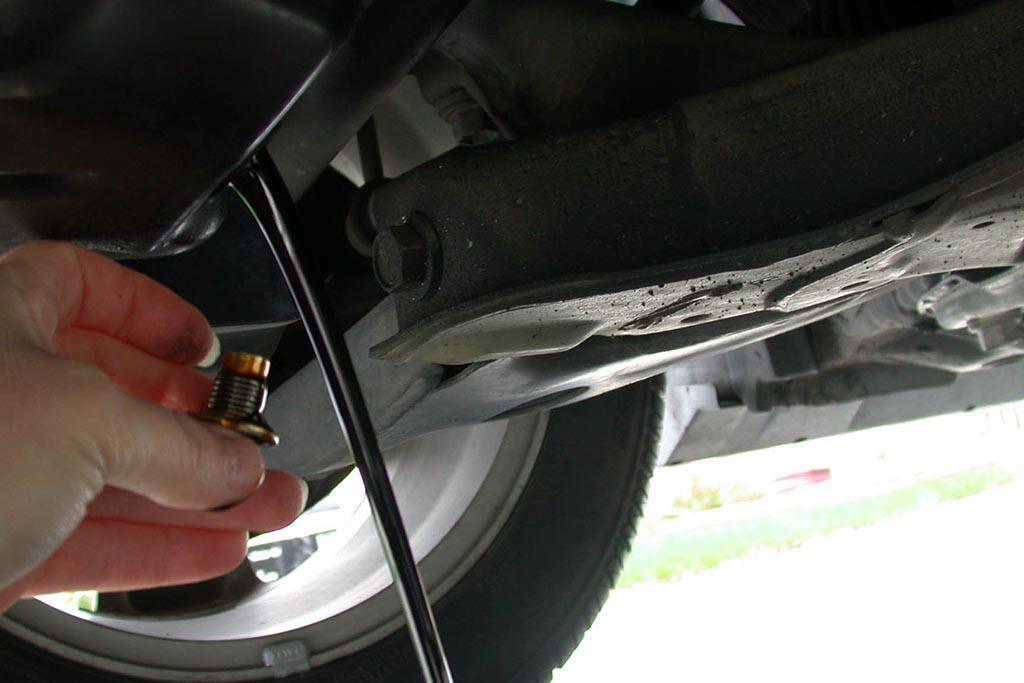 Отработанное масло автолюбителей
