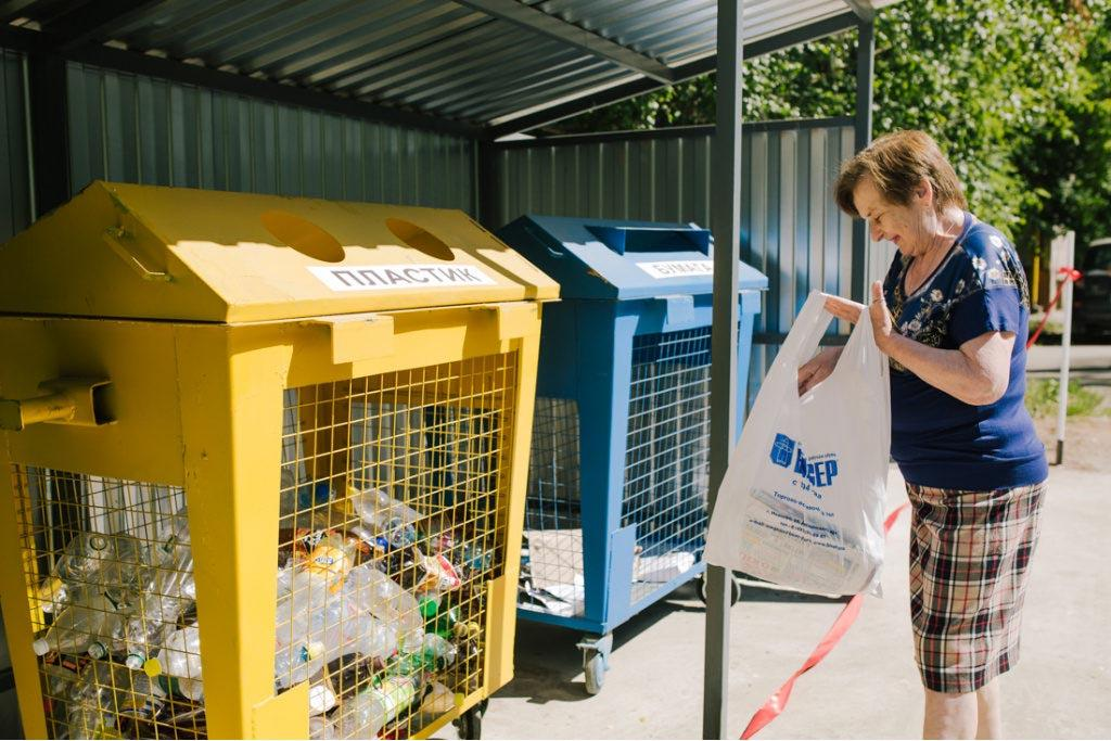 Переход на сбор мусора в отдельные контейнеры