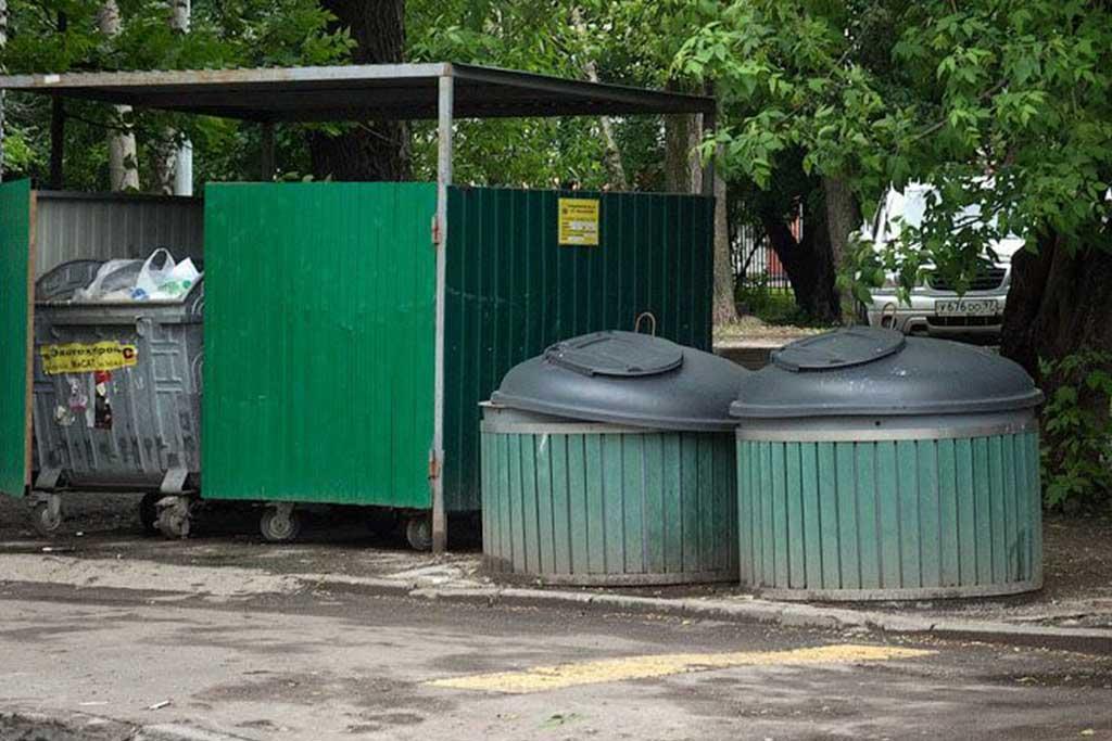 Подземные мусорные контейнеры