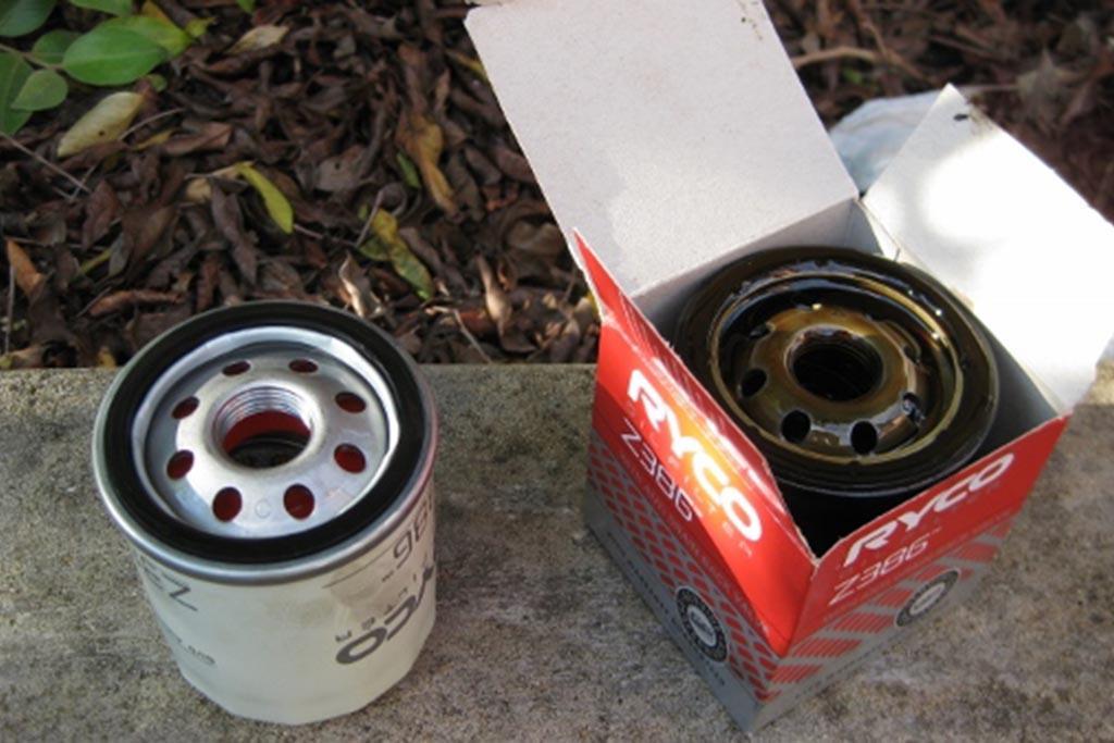 Практика приема масляных фильтров в автомастерских