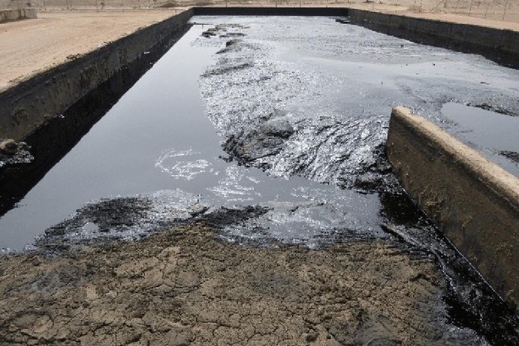 Процесс утилизации бурового шлама