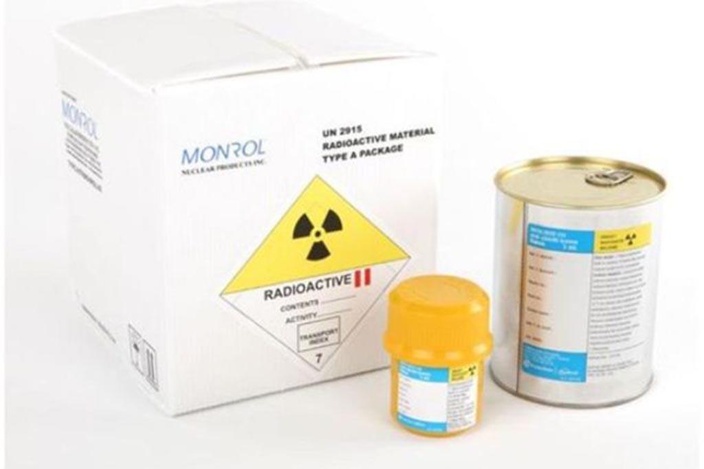Радиоактивный медицинский мусор класса Д