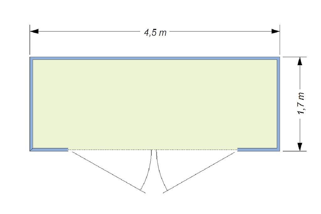 Размер площадок