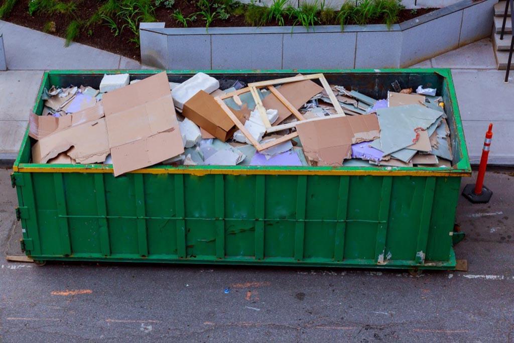 Решение о централизованном вывозе строительного мусора на ОСС