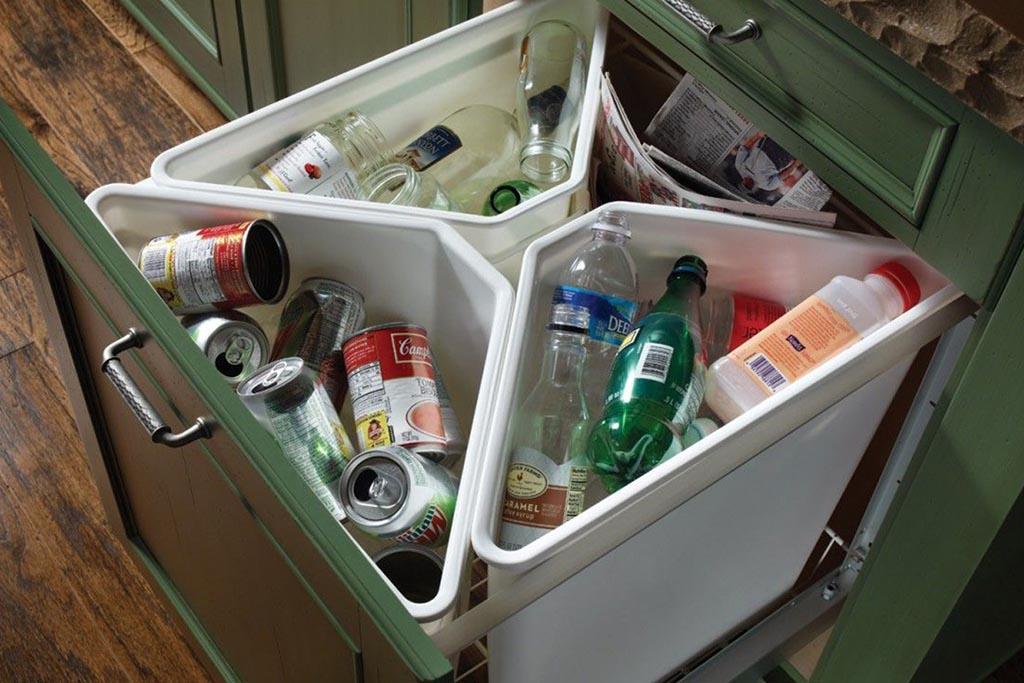 Сортировка мусора дома
