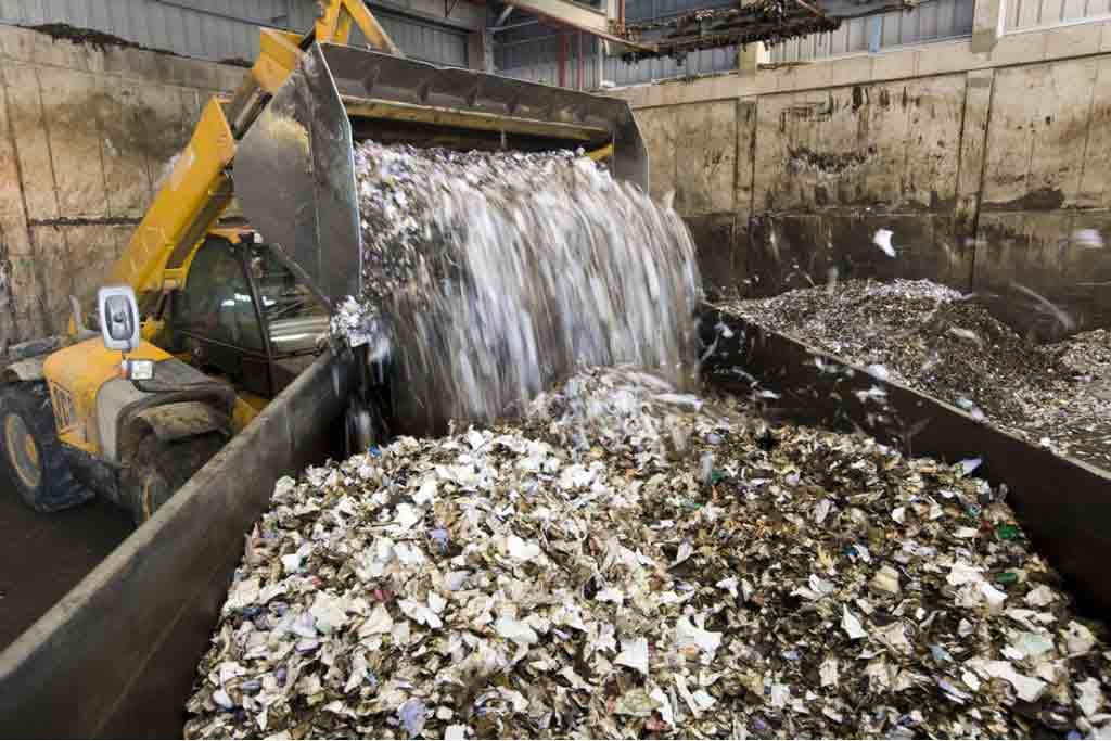 Список всех объектов, на которых размещают остатки отходов