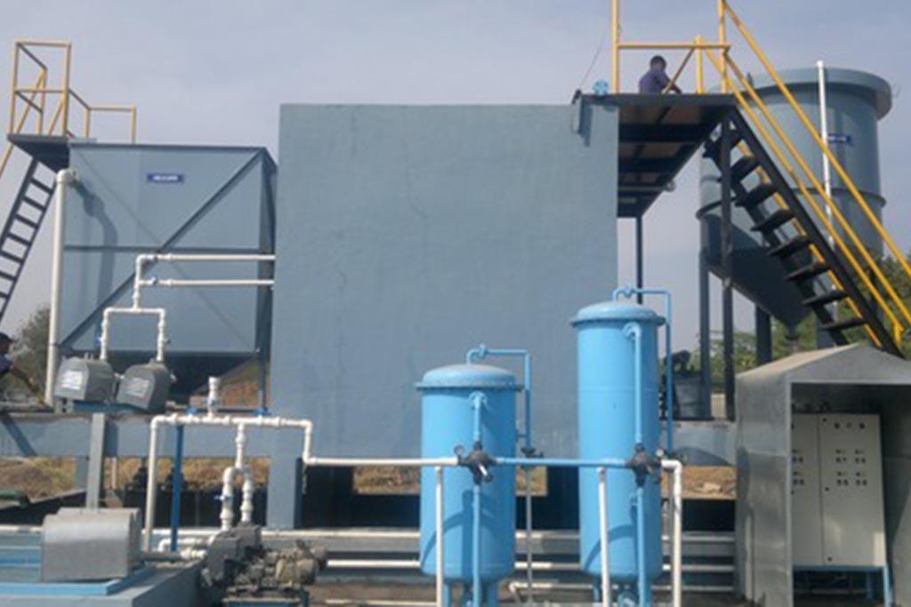 Установка для переработки химических отходов