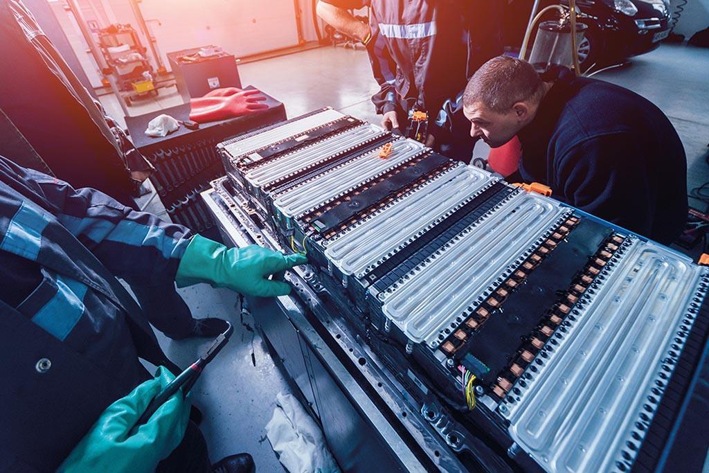 Утилизация литийсодержащих батарей