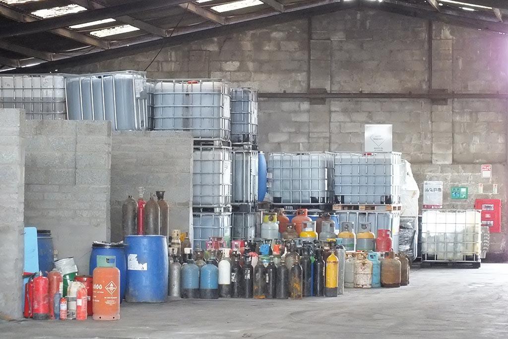 Виды химических отходов