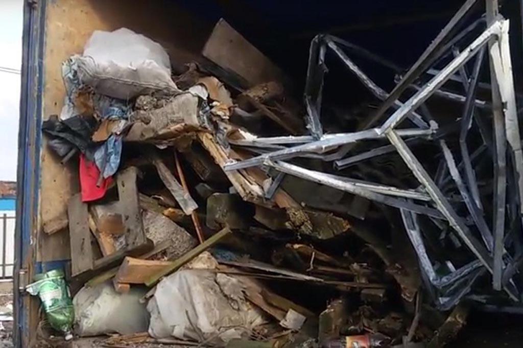 Вывоз мусора у жителей частных домов