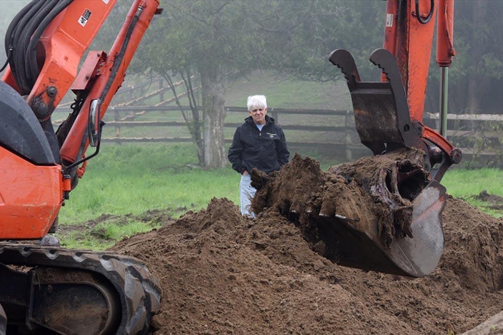 Запрещено закапывать в землю
