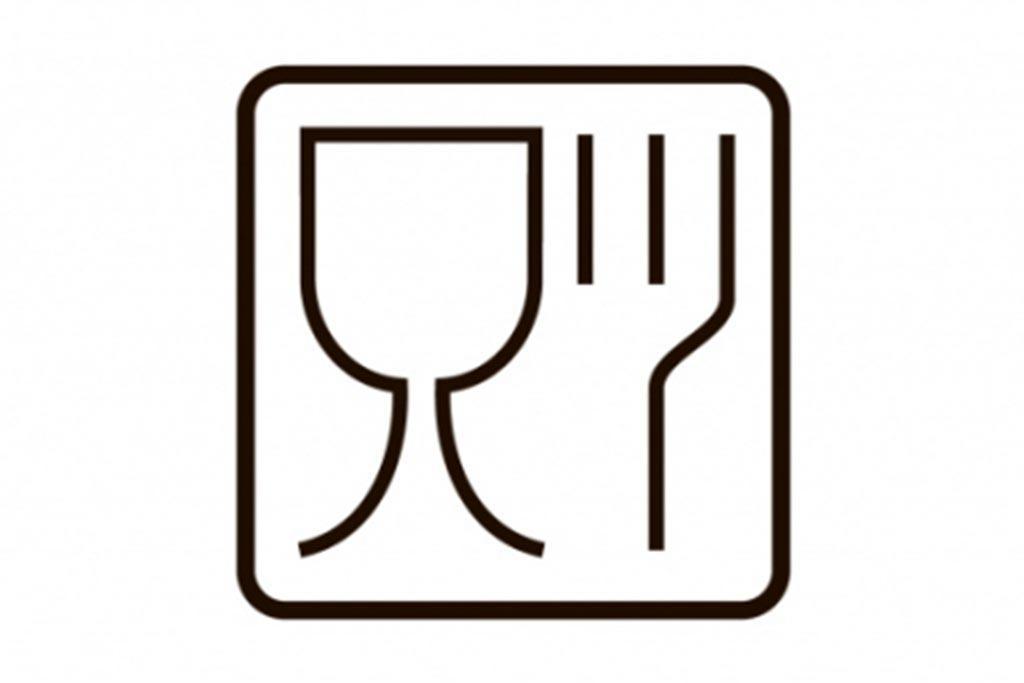 Знак «Бокал-вилка»