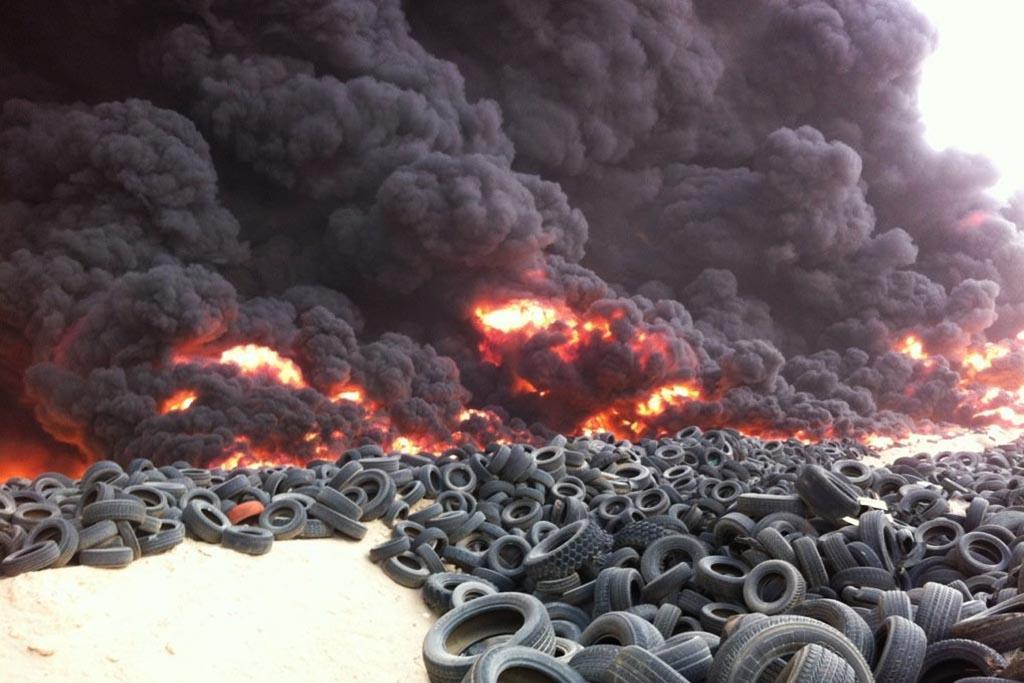 Чем опасно сжигание резины для здоровья человека и экологии