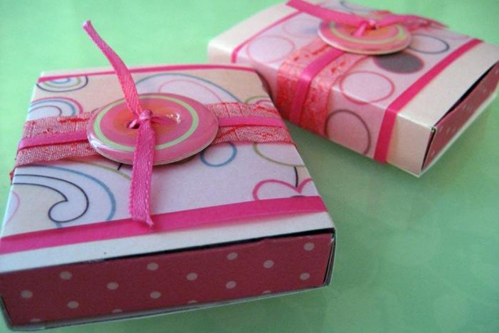 Декоративная мини-шкатулка для куклы