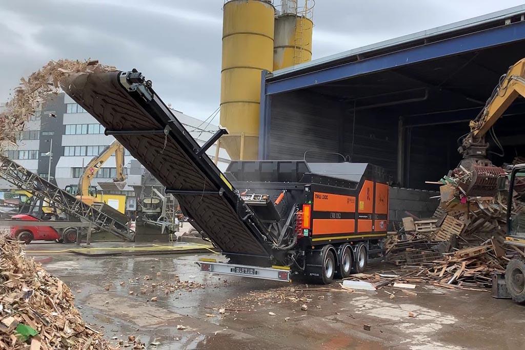 Измельчители древесных отходов