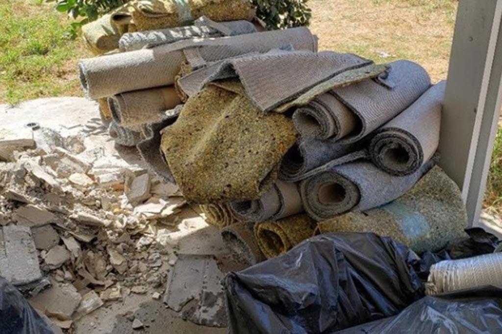 Как вывезти строительный мусор с дачного участка
