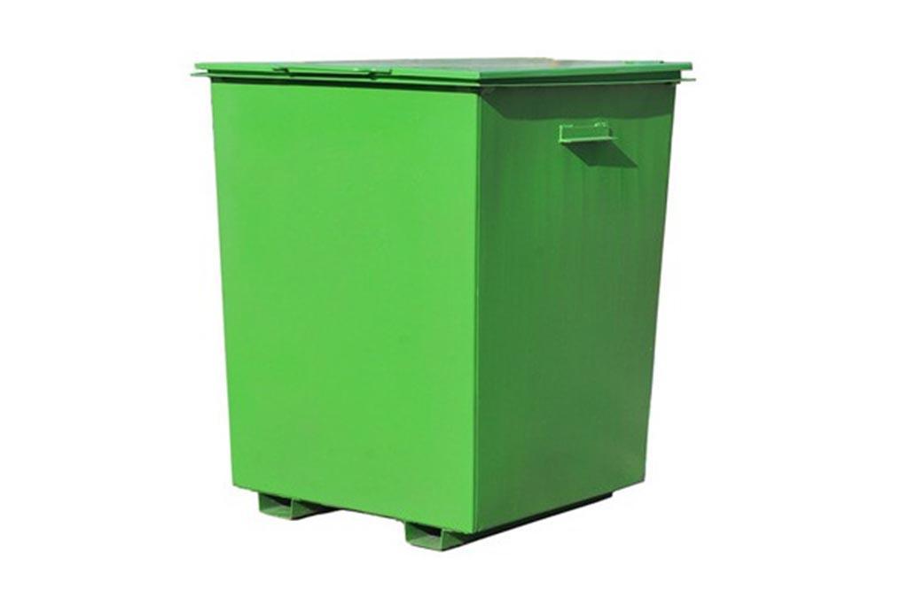 Контейнер мусорный с крышкой 750 литров