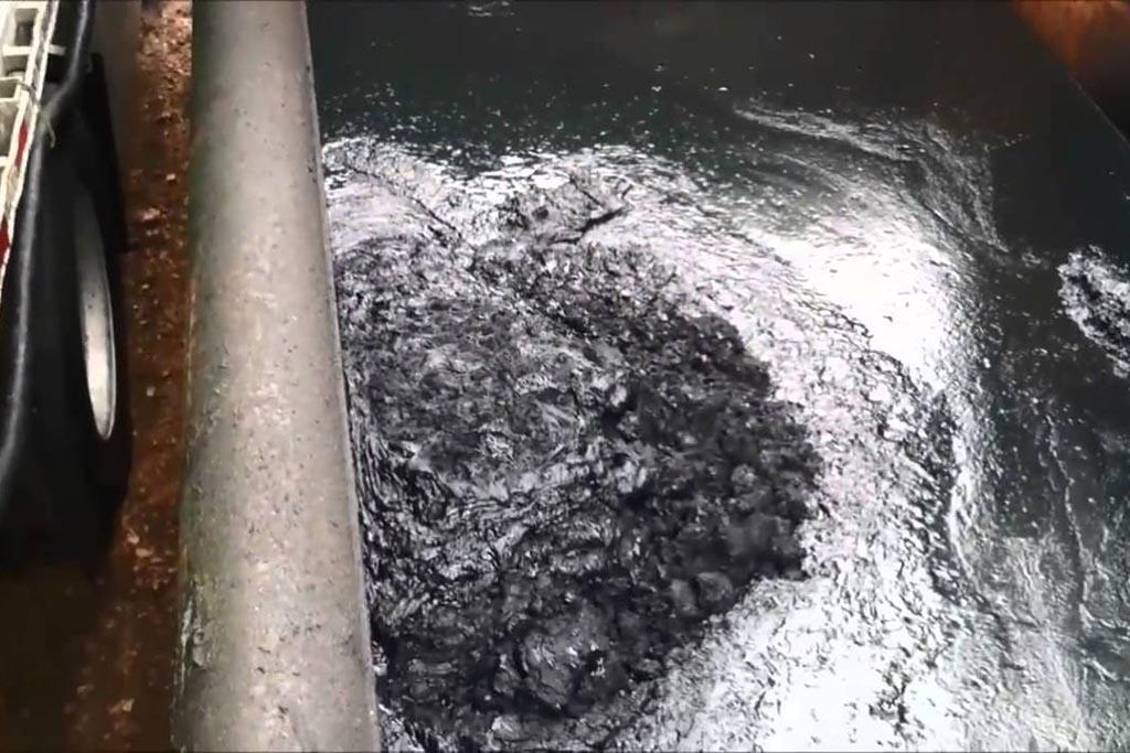 Нефтяные шламы при добыче нефти