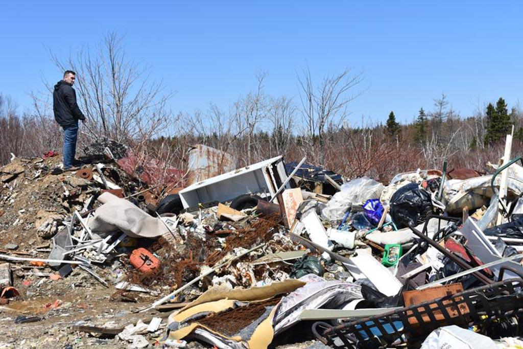 Несанкционированные мусорные площадки