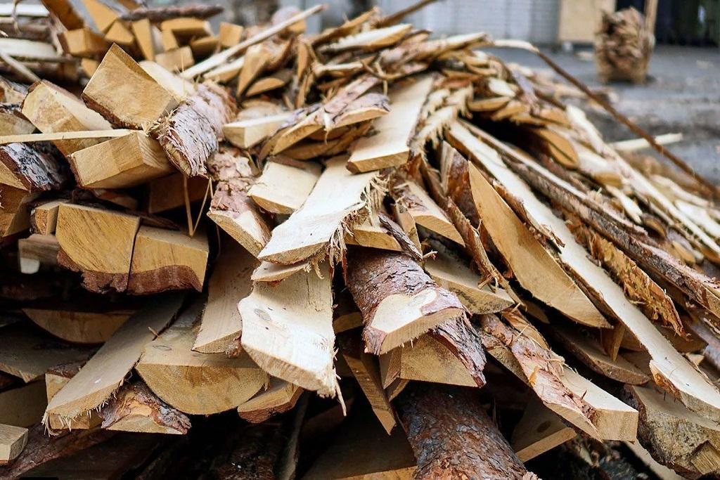 Сооружения для компостирования/аэрации отходов древесины