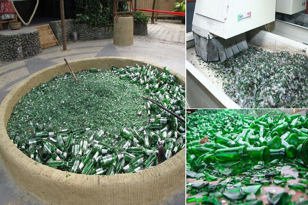Бизнес по переработке стекла