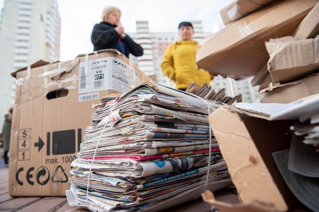 Мини-заводик по вторичной переработке бумажных отходов
