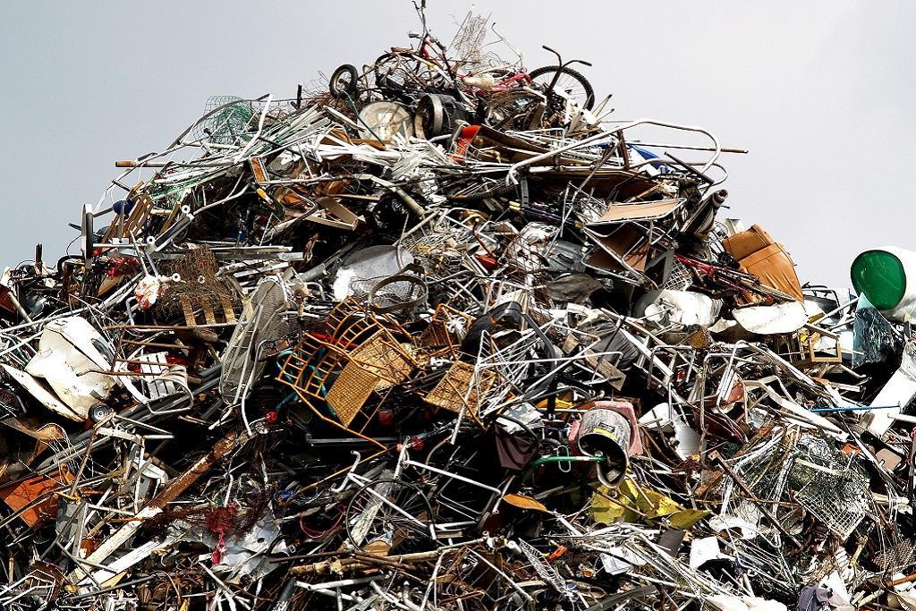 Стадии переработки металлолома