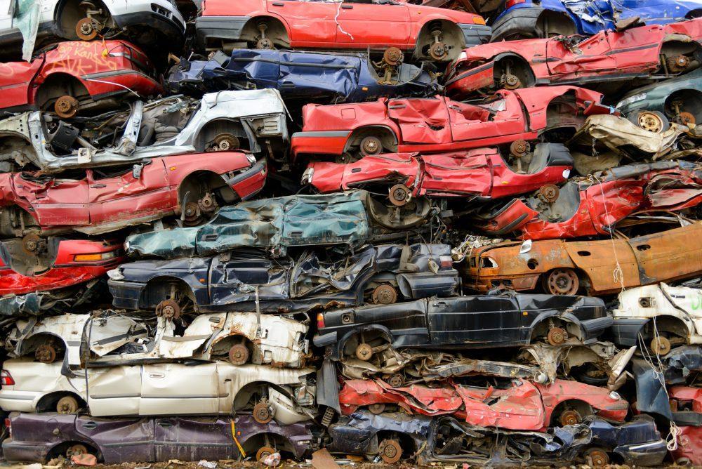 Машины на металлолом