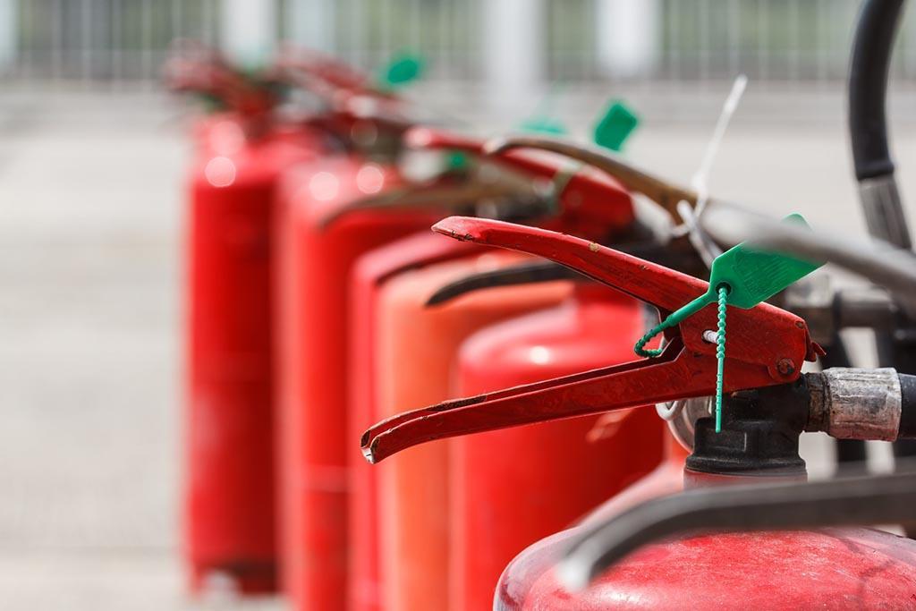 Перевозка огнетушителей