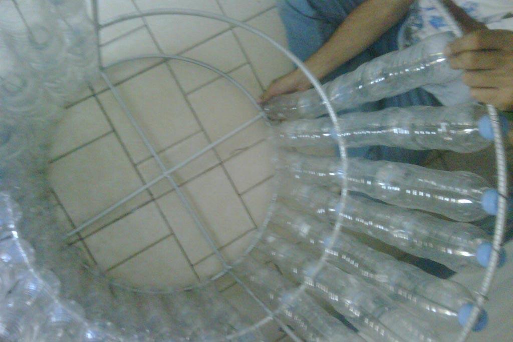 Пластиковые бутылки как собрать бак
