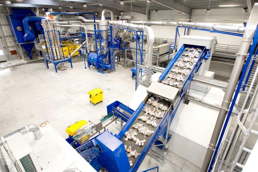 Портативный завод по переработки ПЭТ-отходов