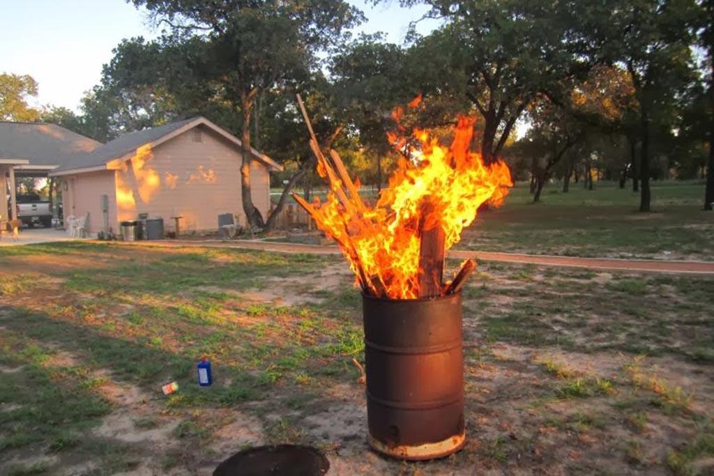Правила сжигания мусора на приусадебном участке