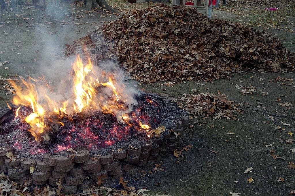 Виды мусора, подлежащие сжиганию