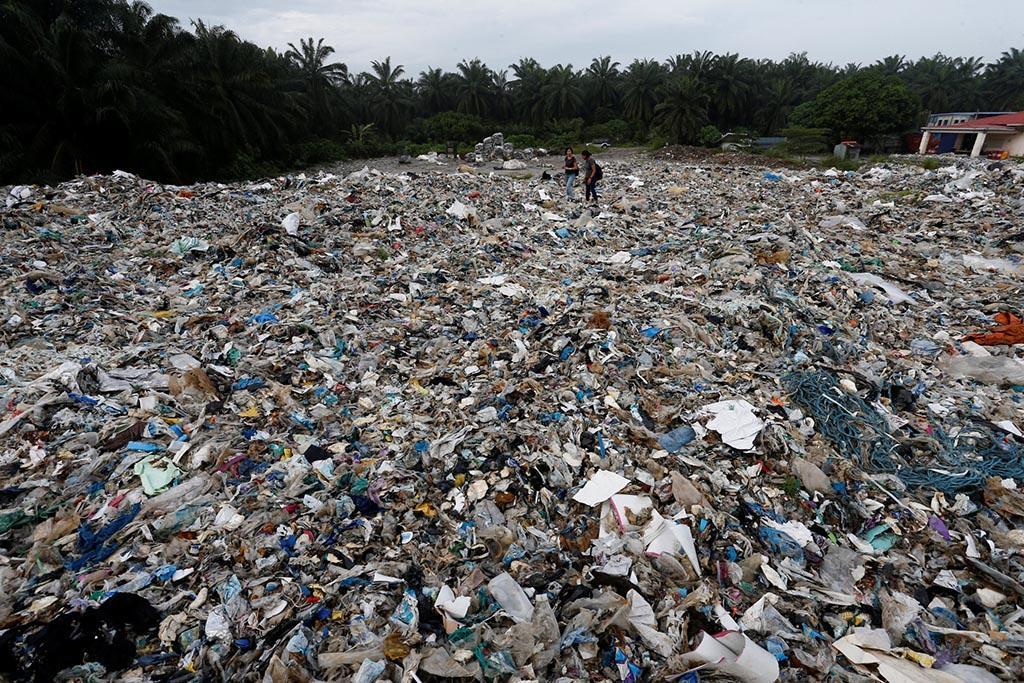 Ввоз полимерных отходов в страны третьего мира