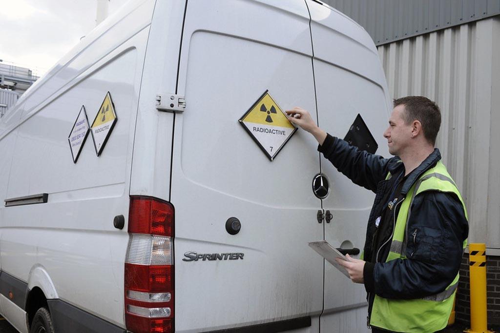 Вывоз ядерных отходов оператором, имеющим лицензию на данный вид деятельности