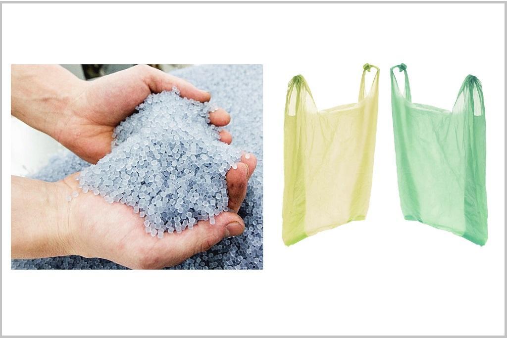 Применение вторичной гранулы, ее качество и вторичная продукция