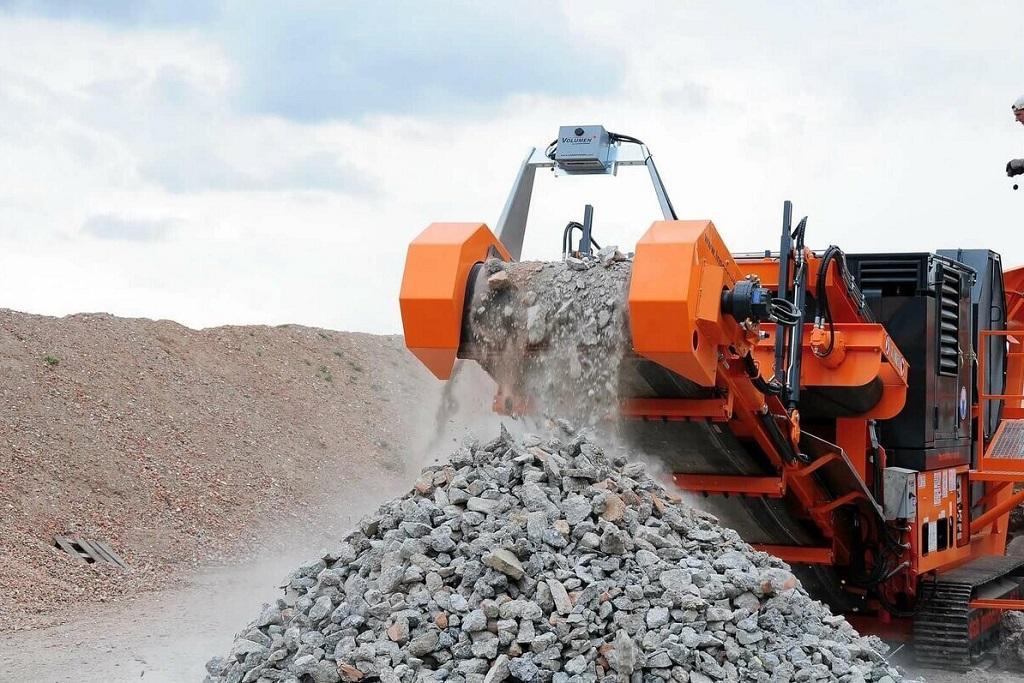 Оборудование - дробилка для бетона