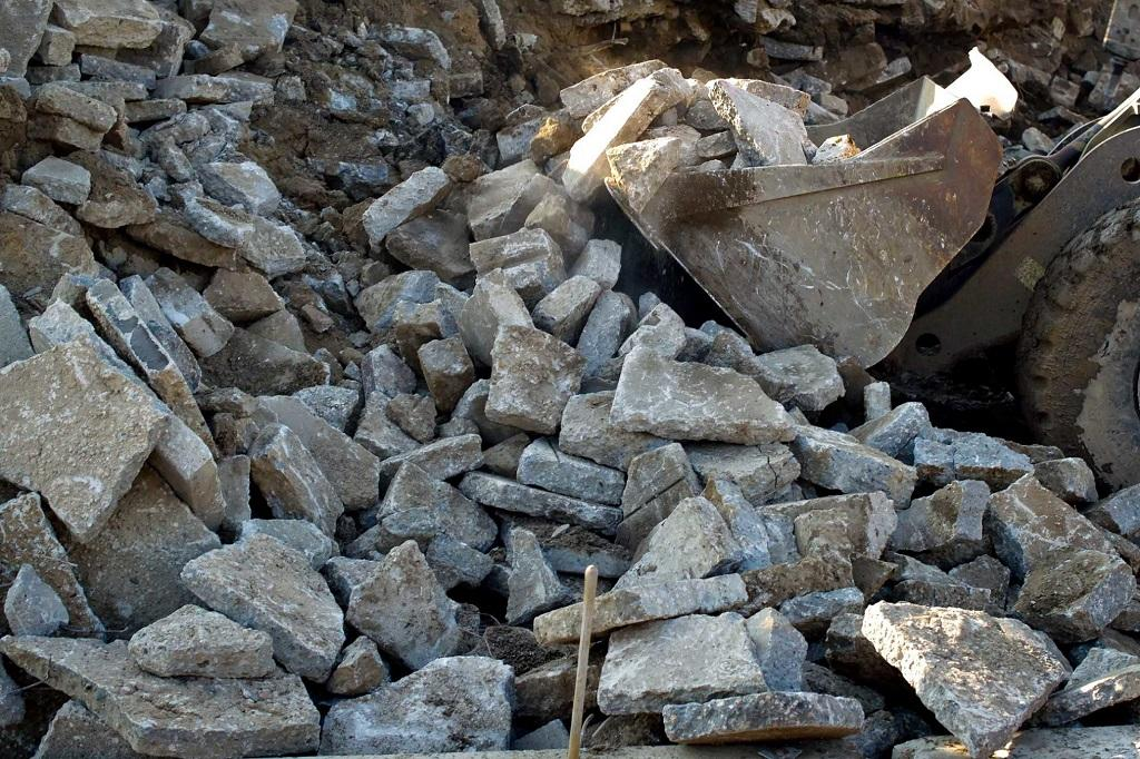Продукт утилизации бетонных отходов
