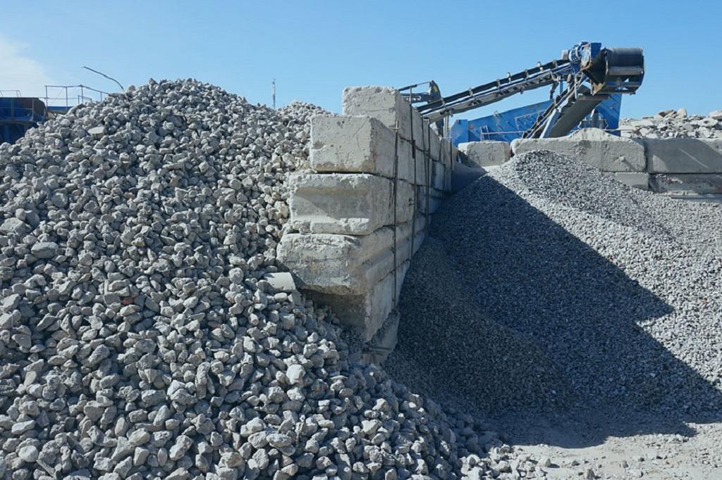 бетон переработка