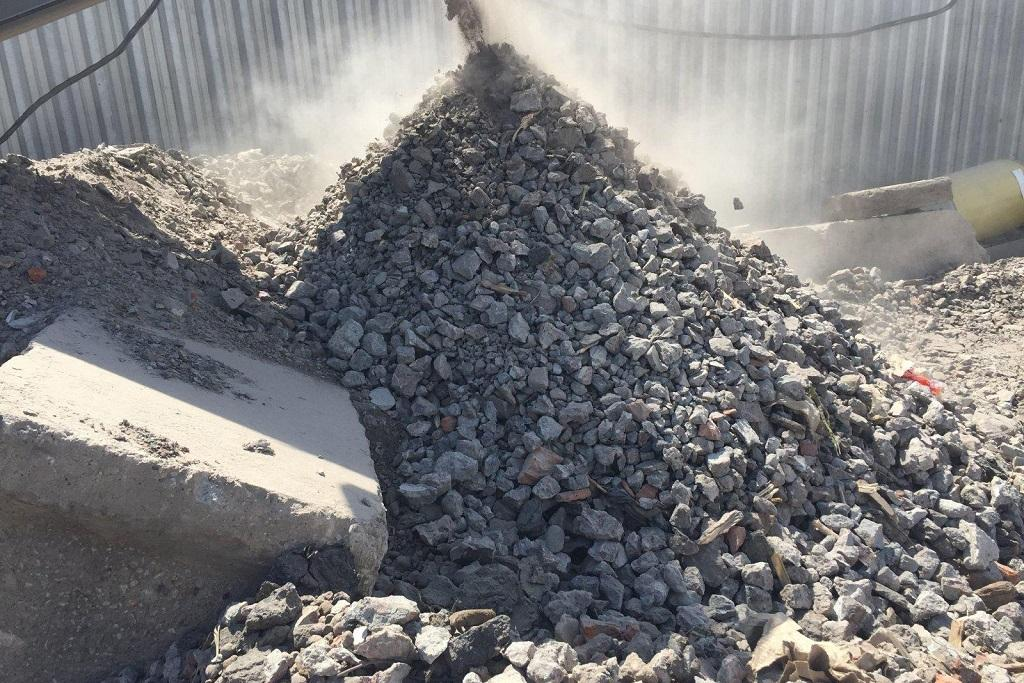 Утилизация бетона как рентабельная отрасль